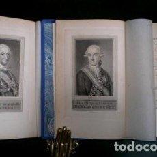 Libros antiguos: FERNAN-NUÑEZ, CONDE DE: VIDA DE CARLOS III. 1898. 2 VOLS. . Lote 195096792