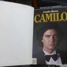 Libros antiguos: CAMILO SESTO CAMILO BLANES - CAMILO. Lote 195242260