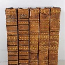 Libros antiguos: MÉMOIRES DE LORD BYRON. 5 TOMOS. T. MOORE. LIBR. A. MESNIER. PARÍS. 1830.. Lote 195364607
