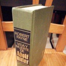 Libros antiguos: VIDA Y MUERTE DE ADOLF HITLER. Lote 195633716