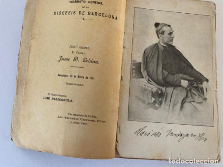 Libros antiguos: Vida íntima de Mossen Jacinto Verdaguer de Joan Güell, sobre. - Foto 3 - 197081028