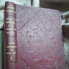 Libros antiguos: RIESGO Y VENTURA DEL DUQUE DE OSUNA, DE ANTONIO MARICHALAR. ESPASA CALPE, 1930 (1A EDICIÓN). DORADOS. Lote 197188333
