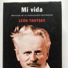 Livros antigos: MI VIDA / LEÓN TROTSKY / DEBATE. Lote 197655285