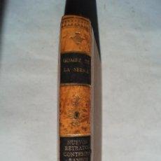 Libros antiguos: NUEVOS RETRATOS CONTEMPORÁNEOS. RAMÓN GÓMEZ DE LA SERNA.. Lote 198774212