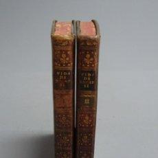 Libros antiguos: VIDA DE JOSEPH II EMPERADOR DE ALEMANIA - JUAN MANUEL HERNÁNDEZ - 2 TOMOS - 1791. Lote 199048378