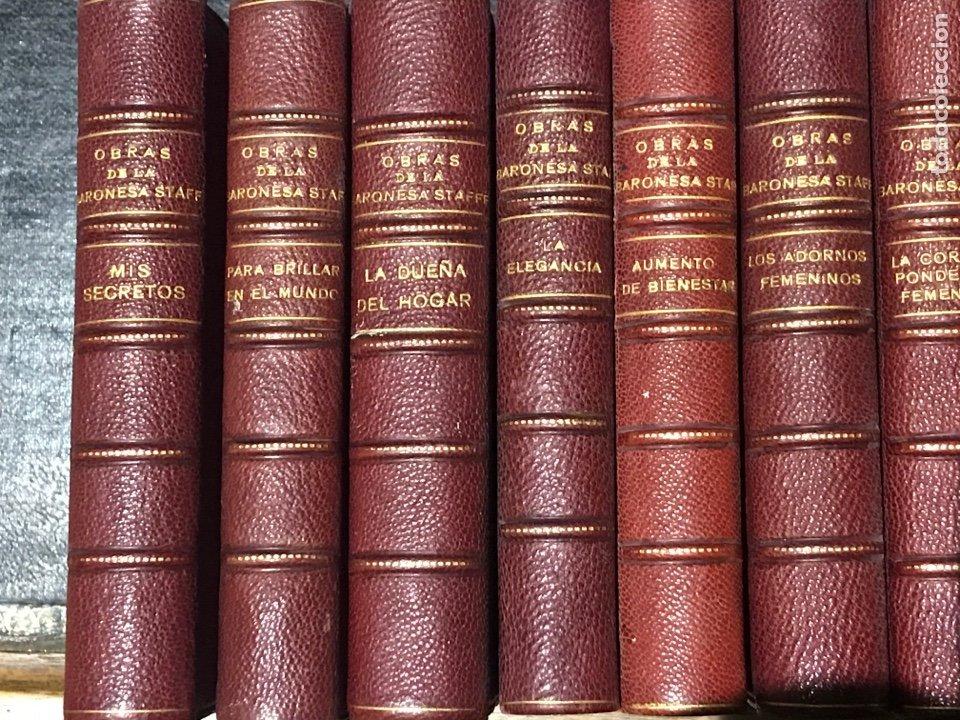 Libros antiguos: Obras completas de la baronesa staffe - Foto 2 - 200131287