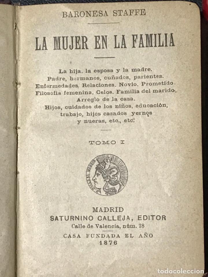 Libros antiguos: Obras completas de la baronesa staffe - Foto 4 - 200131287