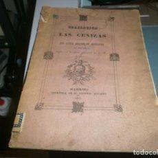 Libros antiguos: TRASLACIÓN DE LAS CENIZAS DEL EXCMO. SR. DON GASPAR MELCHOR DE JOVELLANOS AL MONUMENTO GIJÓN 1842. Lote 201687528
