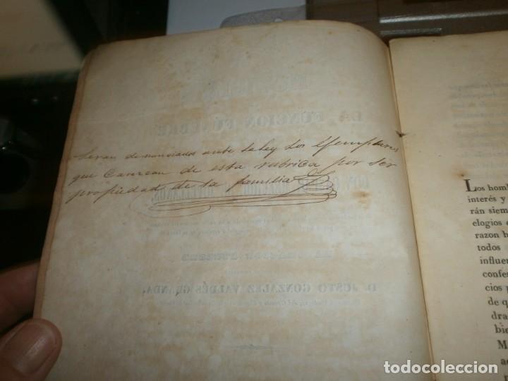 Libros antiguos: Traslación de las Cenizas del Excmo. Sr. Don Gaspar Melchor de Jovellanos al monumento Gijón 1842 - Foto 5 - 201687528
