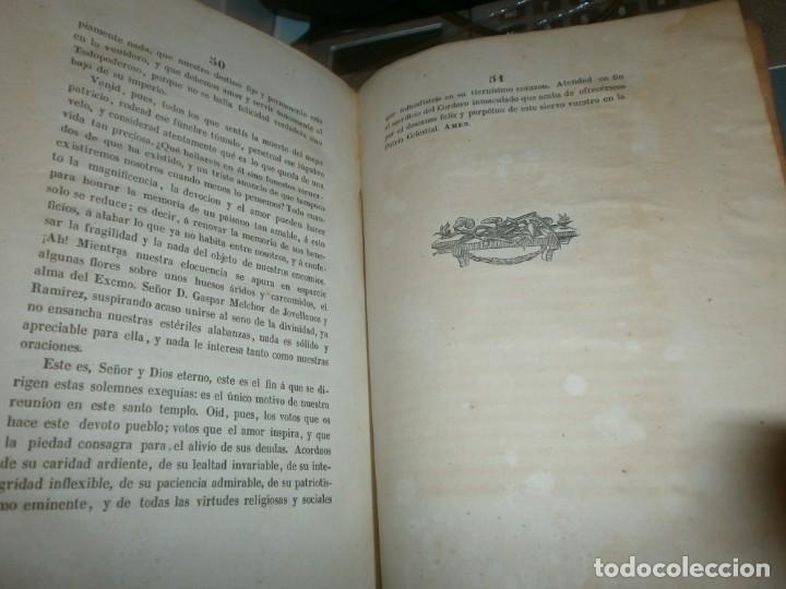 Libros antiguos: Traslación de las Cenizas del Excmo. Sr. Don Gaspar Melchor de Jovellanos al monumento Gijón 1842 - Foto 7 - 201687528
