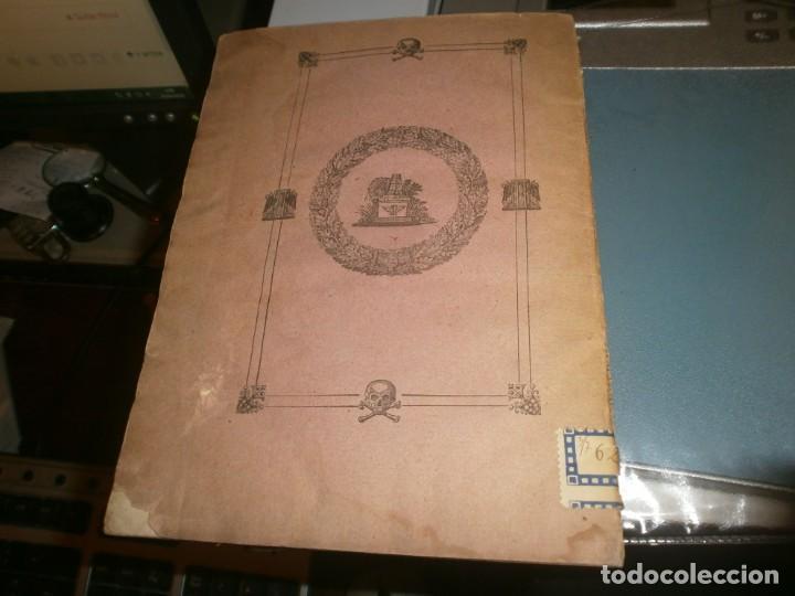 Libros antiguos: Traslación de las Cenizas del Excmo. Sr. Don Gaspar Melchor de Jovellanos al monumento Gijón 1842 - Foto 8 - 201687528