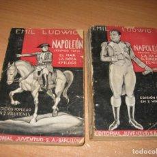 Libros antiguos: NAPOLEON EMIL LUDWIG. Lote 202736806