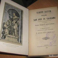 Libros antiguos: VIDA DE SAN JOSE DE CALASANZ. Lote 202957773