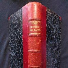 Libros antiguos: HISTOIRE DES PAPES AVEC 16 HÉLIOGRAVURES HORS TEXTE. FERNAND HAYWARD. PARIS. PAYOT. 1929.. Lote 203296455