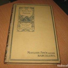Livres anciens: TOMAS ALVA EDISON F.A.JONES. Lote 203341396