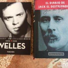 Libros antiguos: 2 LIBROS WELLES Y EL DIARIO DE JACK EL DESTRIPADOR NUEVOS. Lote 203582027
