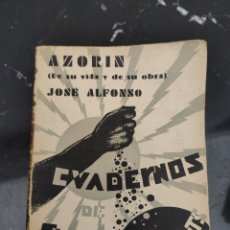 Libros antiguos: AZORÍN. Lote 204273446