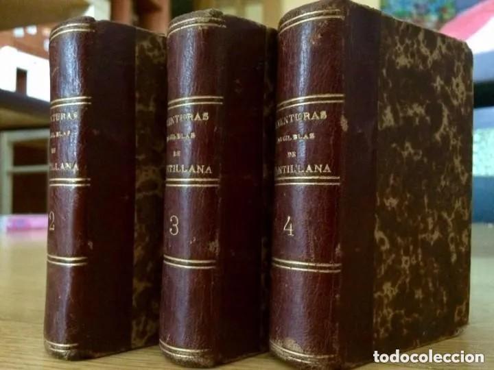 Libros antiguos: 1840. LAS AVENTURAS DE GIL BLAS DE SANTILLANA. TRES TOMOS SUELTOS - Foto 2 - 204394347