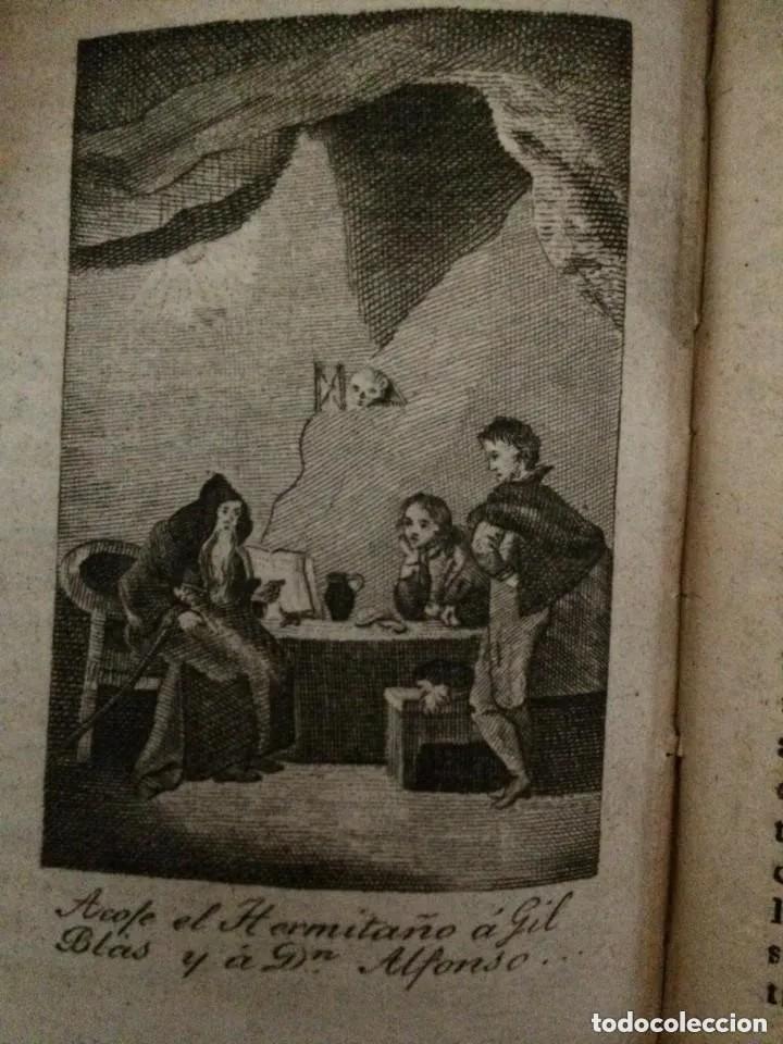 Libros antiguos: 1840. LAS AVENTURAS DE GIL BLAS DE SANTILLANA. TRES TOMOS SUELTOS - Foto 4 - 204394347