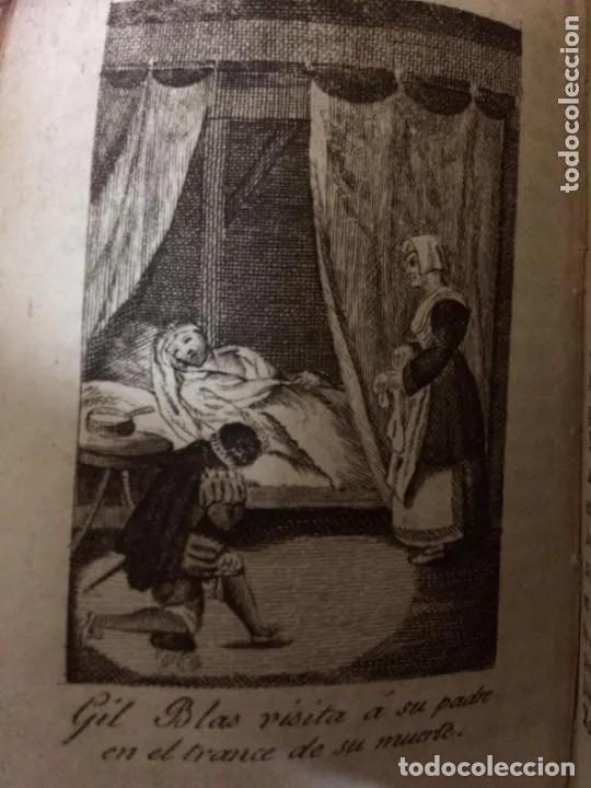 Libros antiguos: 1840. LAS AVENTURAS DE GIL BLAS DE SANTILLANA. TRES TOMOS SUELTOS - Foto 8 - 204394347