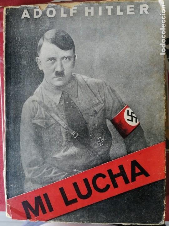 MI LUCHA DE ADOLF HITLER EN CASTELLANO 1935- PRIMERA EDICIÓN. (Libros Antiguos, Raros y Curiosos - Biografías )