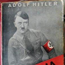 Libros antiguos: MI LUCHA DE ADOLF HITLER EN CASTELLANO 1935- PRIMERA EDICIÓN.. Lote 204826958