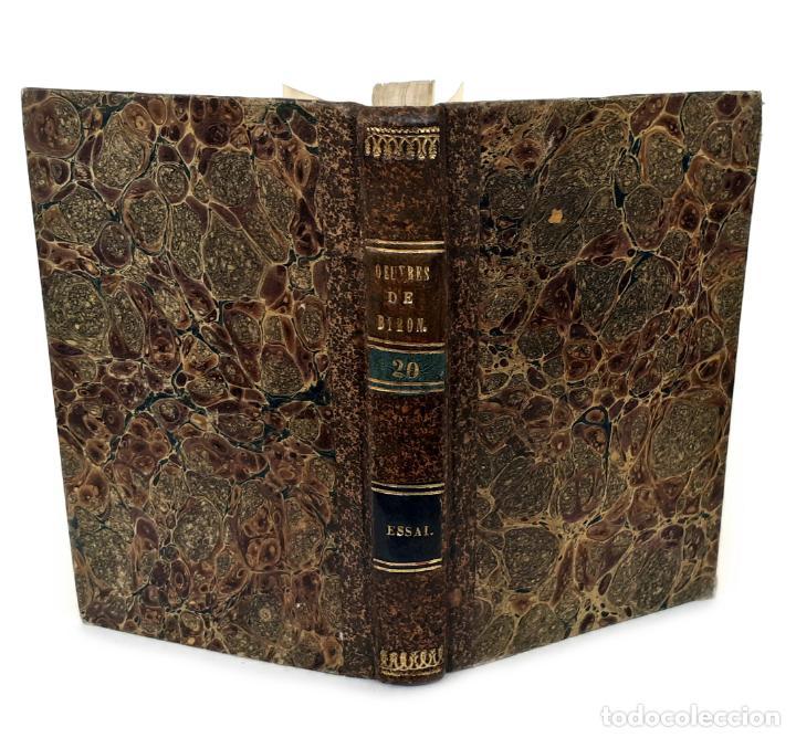 1830 - LORD BYRON - ENSAYO SOBRE LA VIDA, CARÁCTER Y GENIO DE LORD BYRON - BIOGRAFÍA, ROMANTICISMO (Libros Antiguos, Raros y Curiosos - Biografías )