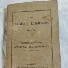 Libros antiguos: THE FAMILY LIBRARY EDICCION 1829. Lote 205530546