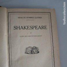 Libros antiguos: VIDAS DE HOMBRES ILUSTRES SHAKESPEARE - EL CID - SANTA TERESA - TOLSTOI - EDICIONES HYMSA 1933. Lote 205655970