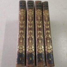 Libros antiguos: HISTOIRE DE NAPOLÉON - M. DE NORVINS - 4 TOMOS - AÑO 1834. Lote 205679582