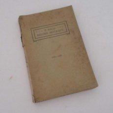 Libros antiguos: RECORD BIOGRAFIC DE PERE BACH TARRAGONA 1796-1866 - VIC 1915. Lote 205720493