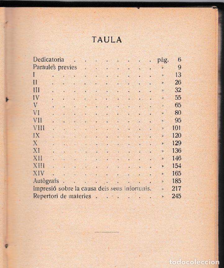Libros antiguos: MOSSEN JACINTO VERDAGUER - RECORTS SET DARRERS ANYS - V. SERRA I BOLDÚ - SALADRIGUES 1915 - CATALÀ - Foto 2 - 205796712