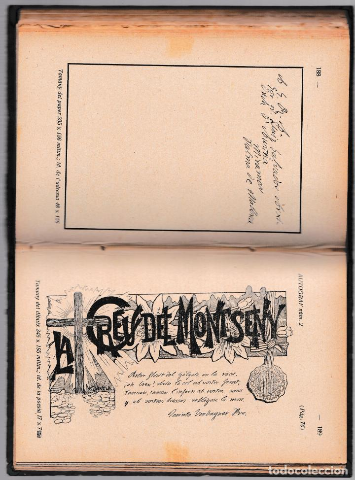 Libros antiguos: MOSSEN JACINTO VERDAGUER - RECORTS SET DARRERS ANYS - V. SERRA I BOLDÚ - SALADRIGUES 1915 - CATALÀ - Foto 4 - 205796712