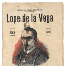 Libros antiguos: COLECCION POETAS CLASICOS ESPAÑOLES .- LOPE DE LA VEGA. Lote 207137485