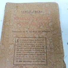 Libros antiguos: SAMUEL SMILES. LA VIDA DE JORGE STEPHENSON.. Lote 208957353