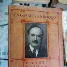 Libros antiguos: VICENTE BLASCO IBAÑEZ.POR EMILIO GASCÓ.AGENCIA MUNDIAL DE LIBRERIA. Lote 209104015
