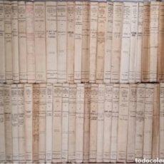 Livros antigos: 48 TITULOS VIDAS ESPAÑOLAS E HISPANO-AMERICANAS DEL SIGLO XIX. Lote 209245555
