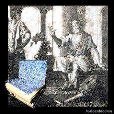 Libros antiguos: AÑO 1811 ESPARTA ANTIGUA GRECIA Y ROMA VIDAS PARALELAS DE PLUTARCO EX-LIBRIS GRABADO. Lote 106969731