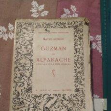 Libros antiguos: MATEO ALEMÁN. GUZMÁN DE ALFARACHE. COLECCIÓN AUTORES REGOCIJADOS. AGUILAR 1929.. Lote 210710234