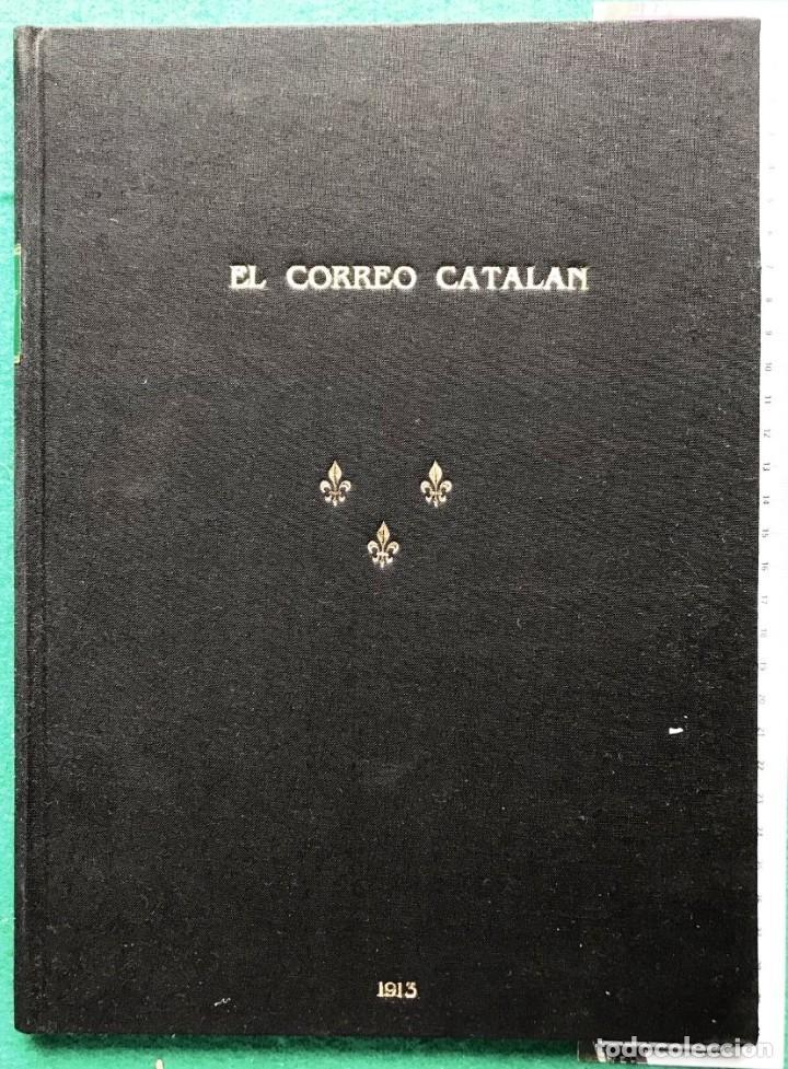 Libros antiguos: El Correo Catalán. Suplemento. 1913, Dedicado a D. Jaime III de Borbón, Carlista - Foto 3 - 213406363