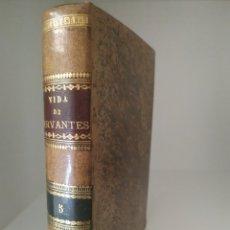 Libros antiguos: VIDA DE MIGUEL DE CERVANTES Y SAAVEDRA MARTIN FERNÁNDEZ DE NAVARRETE MADRID 1819 REAL ACADEMIA RAE. Lote 213426687