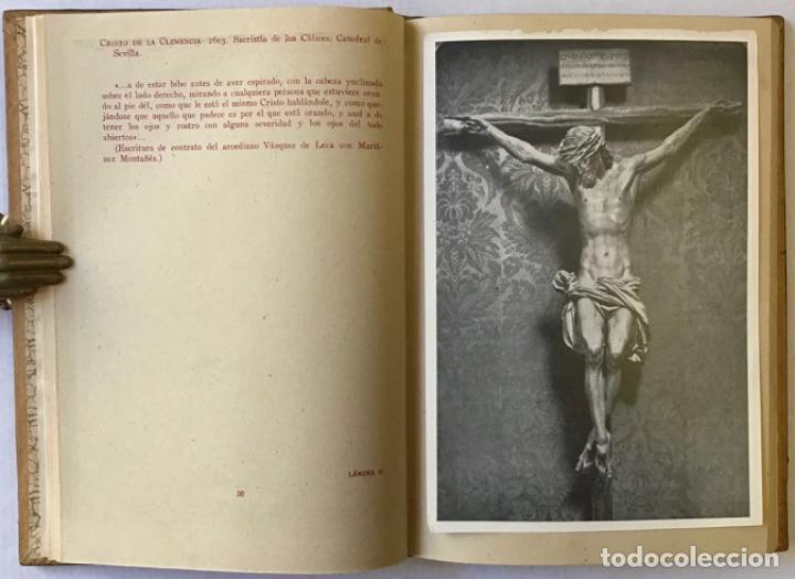 Libros antiguos: JUAN MARTÍNEZ MONTAÑÉS. - GÓMEZ-MORENO, María Elena. - Foto 4 - 123196012