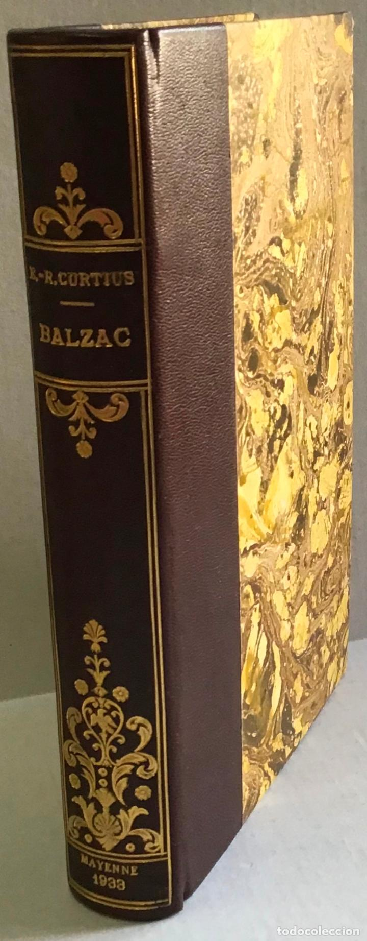 Libros antiguos: BALZAC. - ROBERT CURTIUS, Ernst. - Foto 2 - 123238124