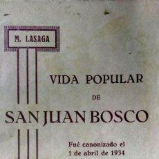 Libros antiguos: SAN JUAN BOSCO SALESIANOS. Lote 216003892
