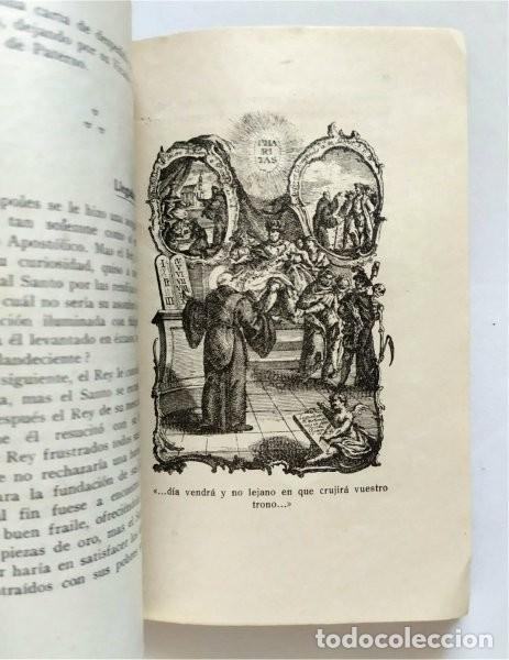 Libros antiguos: Vida de San Francisco de Paula. Fundador Orden de los Mínimos. Fr. Salvador de Mª Pomé. 1929 - Foto 3 - 219703142