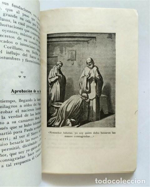 Libros antiguos: Vida de San Francisco de Paula. Fundador Orden de los Mínimos. Fr. Salvador de Mª Pomé. 1929 - Foto 4 - 219703142