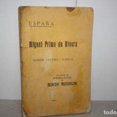 Libros antiguos: BIOGRAFÍA DE MIGUEL PRIMO DE RIVERA. AÑO 1923. Lote 220540745