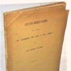 Libri antichi: VICENTE TINAJERO ... LUCIO JUNIO MODERATO COLUMELA. SUS VIAJES, SU GOBIERNO EN ASIA Y SUS OBRAS 1879. Lote 220653333