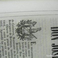 Libri antichi: 1853 BIOGRAFIA DEL BRIGADIER DE CABª JOSE DE LOS RIOS FONS DE MONSALVE Y NAVARRO N EN SAN ROQUE. Lote 221691438