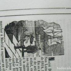 Libros antiguos: 1853 BIOGRAFIA DEL BRIGADIER DE CABª RAFAEL DE MENDICUTI Y SURGA N EN SANLUCAR DE BARRAMEDA. Lote 221692700